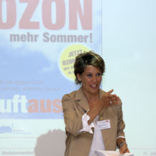 luftaus.ch - Aktion Ozon 2013 - Medienanlass